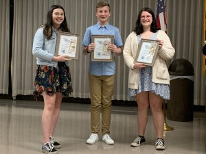 NAMS Optimist Club award winners